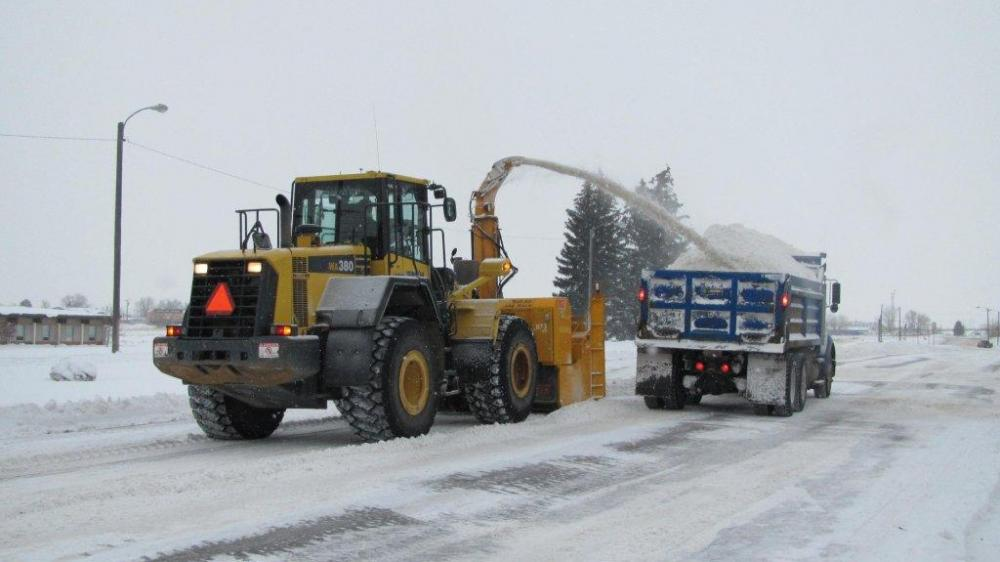 Snow and Ice Control | City of Great Falls Montana