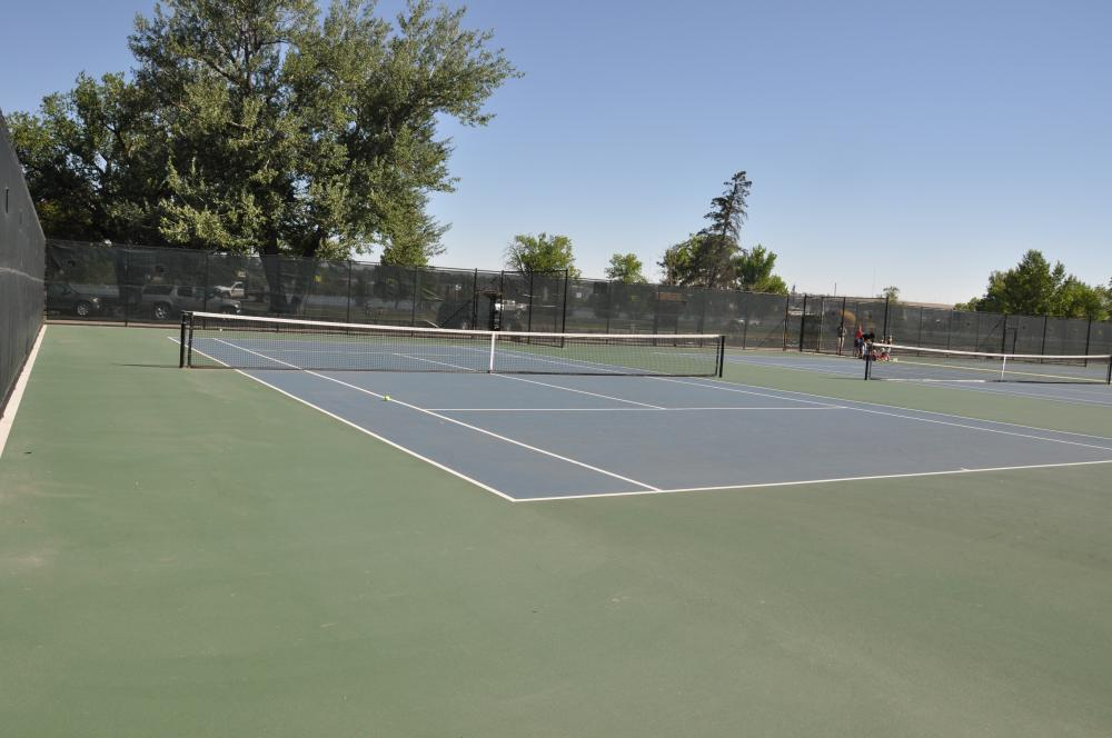 Tennis Courts City Of Great Falls Montana