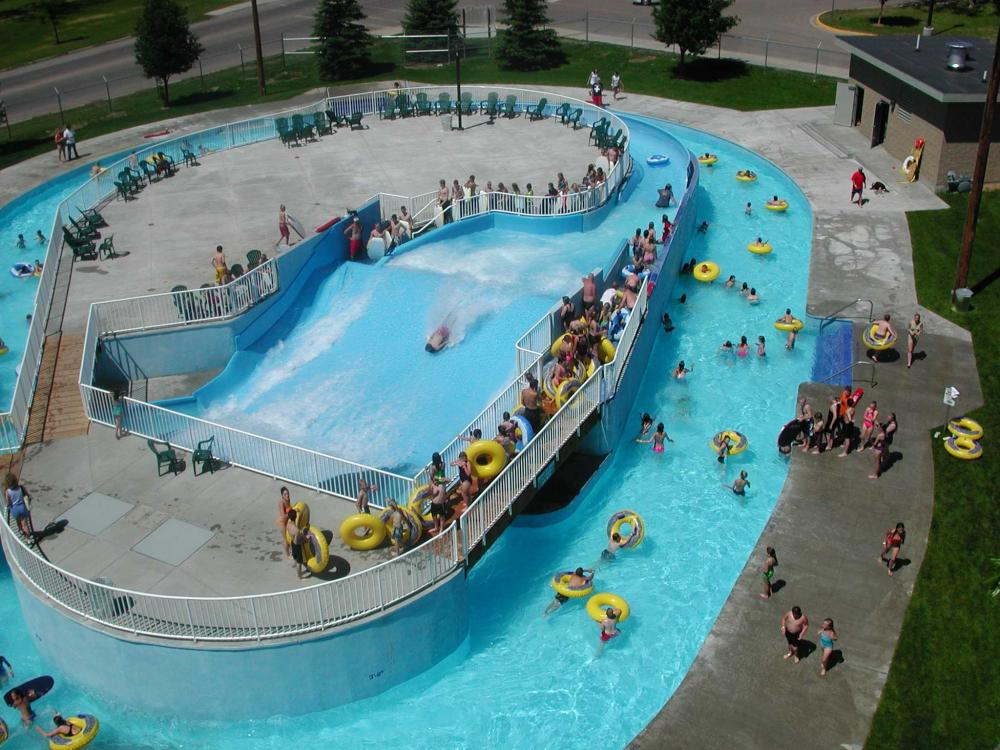 Electric City Water Park City Of Great Falls Montana